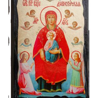Икона Пресвятой Богородицы Дивногорская (Сицилийская)