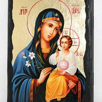 Икона Пресвятой Богородицы Неувядаемый цвет
