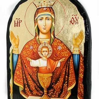 Икона Пресвятой Богородицы Неупиваемая чаша