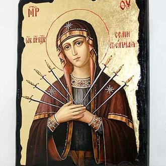 Икона Пресвятой Богородицы Семистрельная