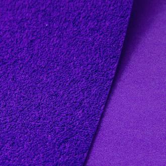Фоамиран махровый (плюшевый) 2мм Фиолетовый