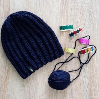 Классическая мужская шапочка