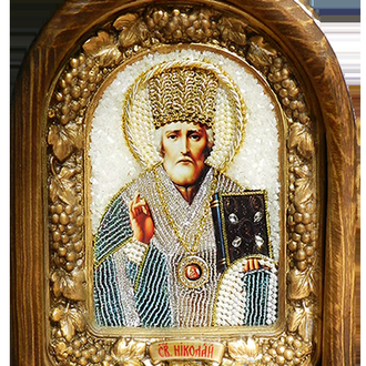 Афонская Икона Святой Николай Чудотворец