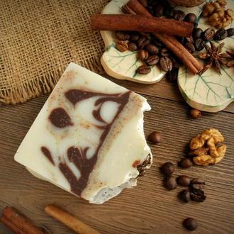 """Натуральное мыло с нуля """"Кофе и глина рассул"""""""