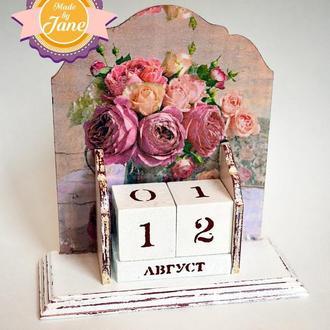 Вечный календарь Прекрасные розы (большой)
