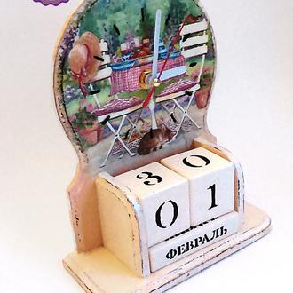 Вечный календарь Уютный сад