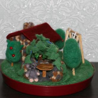 Чудо домик для мышат