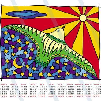 Календарь на 2018 год. Птица в полете. Принт А3, А2 или цифровой