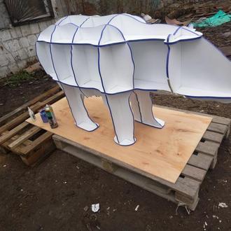 полочка в форме медведя