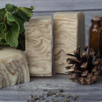 Мятное мыло с маслом ши