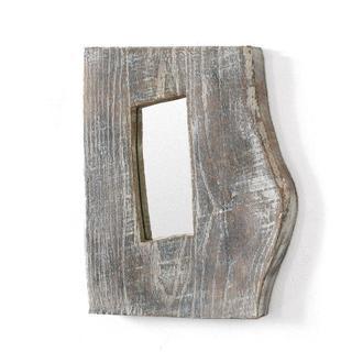 дубовое зеркало