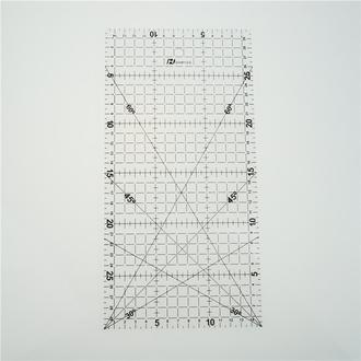 линейка лекало для квилтинга прямоугольная 15см * 30 см