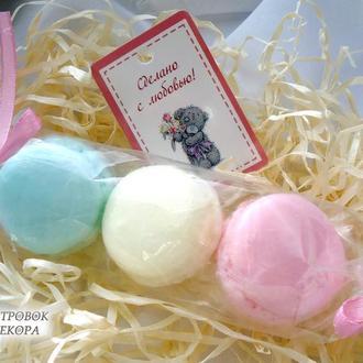 Мыло «Печенье макаруны»,набор из 3 шт