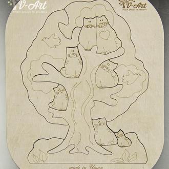 Пазл Дерево