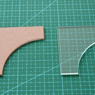 Лекало шаблон для пэчворка лоскутного шитья и аппликации