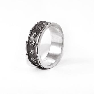 Кольцо из серебра EJ Jolly Roger