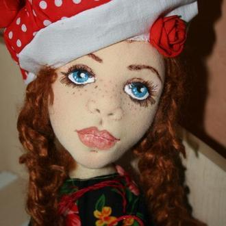 Сесиль авторская кукла