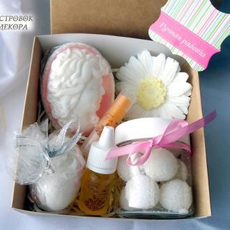 Подарочный набор натуральной косметики «Lady romance», подарок для девушки, мамы, сестры