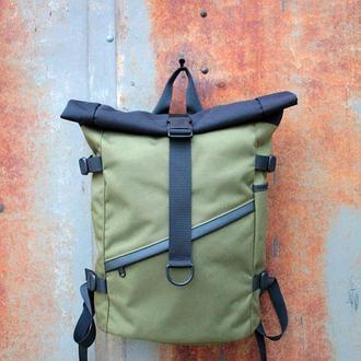Городской рюкзак Kona Hiker Black/Olive