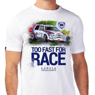 Авторский принт. Too Fast For Race. Lancia