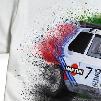 Авторский принт. Too Fast To Race. Lancia