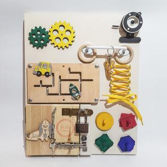 Busy Board от Бибо, детская развивающая игрушка 1+