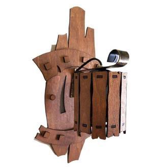 """Бра деревянное """"Заборчик"""", оформление бочонок"""
