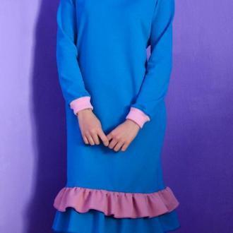 Такое оригинальное и удобное платье