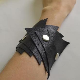 """Кожаный браслет """"Draco"""""""