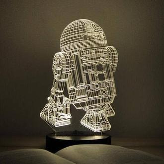 "3D ночник ""R2D2"""