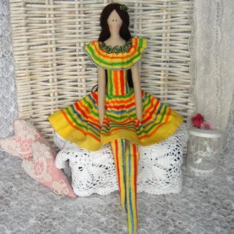 Кукла в стиле Тильда Беатрис