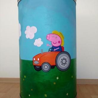 Бочка-тумба для хранения игрушек и не только