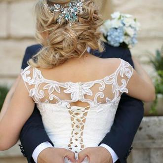 Свадебное, вечерние украшение, украшения на выпускной. Гребень,веточка,тиара,диадема,ободок,веночек
