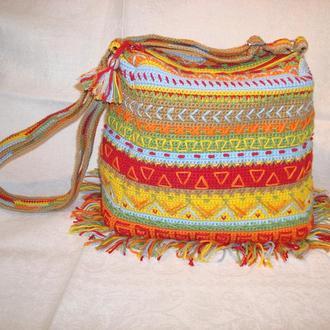 Вязаная сумочка Шаманка