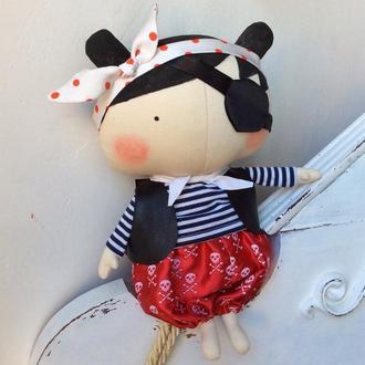 Кукла Тильда Малышка  Пиратка