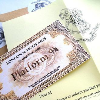 Письмо из Хогвартса (по мотивам истории о Гарри Поттере)