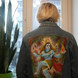 Куртка джинсова Шива йога