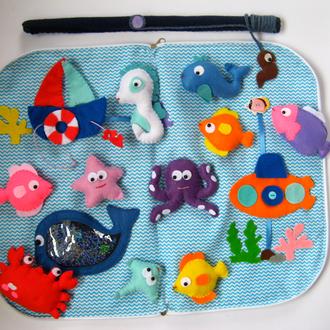 Детская игра рыбалка, магнитная рыбалка, детские развивающие игры, детская рыбалка
