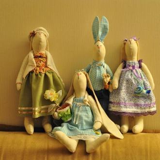 Интерьерные игровые куклы в стиле Тильда!