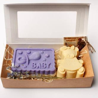 Набор мыла для малыша. Набір мила для малюка.