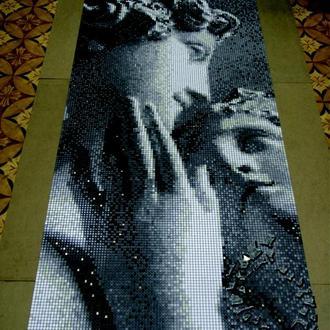 Венера и Адон. Мозаика