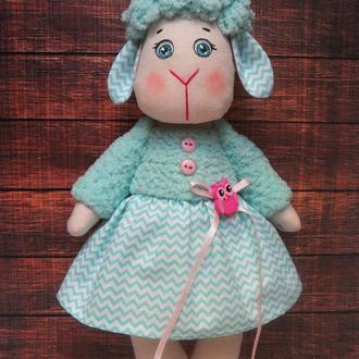 Бирюзовая овечка, игрушка