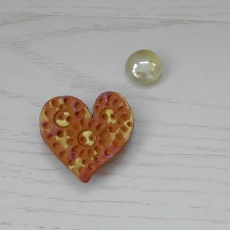 """Магнитик """"Сердце"""" ко дню Святого Валентина"""