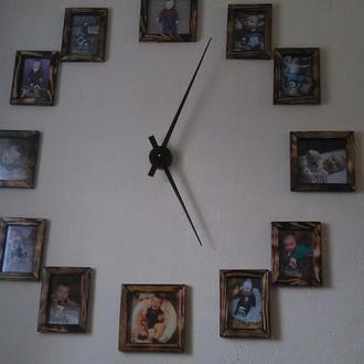 Часы из фоторамок