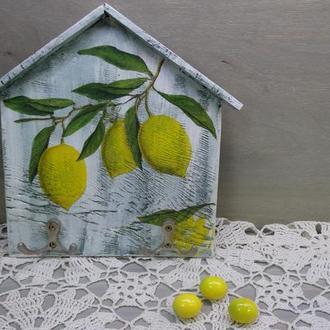 """Ключница """"Лимоны"""""""