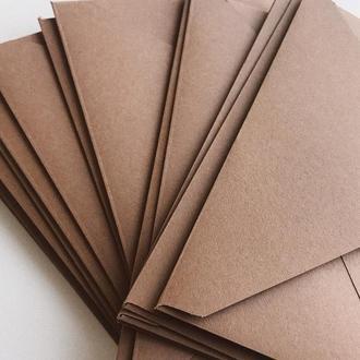Конверт кольоровий в асортименті (light brown)
