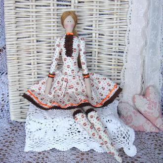 Кукла в стиле Тильда  Патрисия плюс БЕСПЛАТНЫЙ ПОДАРОК