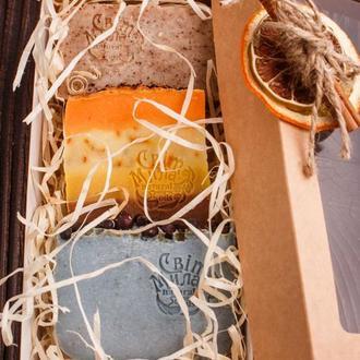 Подарунковий набір з рослинних мил