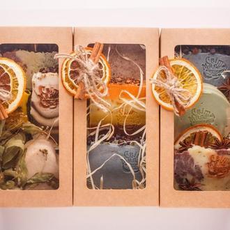 Подарочный набор из растительных мыл