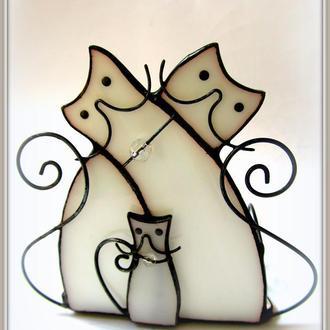 Підсвічник Сімейка котов